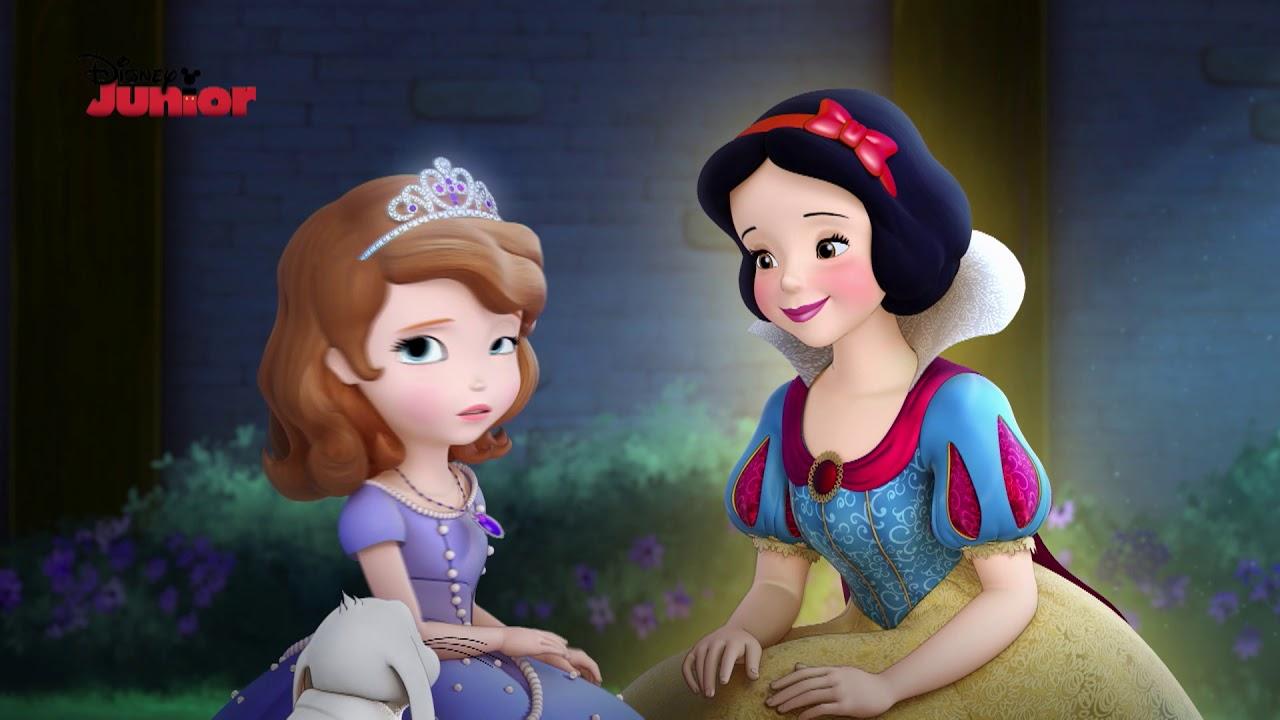 A Princesa Sofia Momentos Magicos Branca De Neve Ajuda Sofia A
