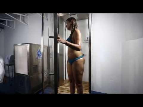 Engenheiro cria chuveiro que 'recicla' a água do banho
