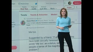 #MeToo - Mächtiger Twitter-Sturm gegen Alltäglichen Sexismus