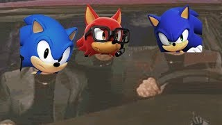 Sonic Forces Stages in a nutshell with music