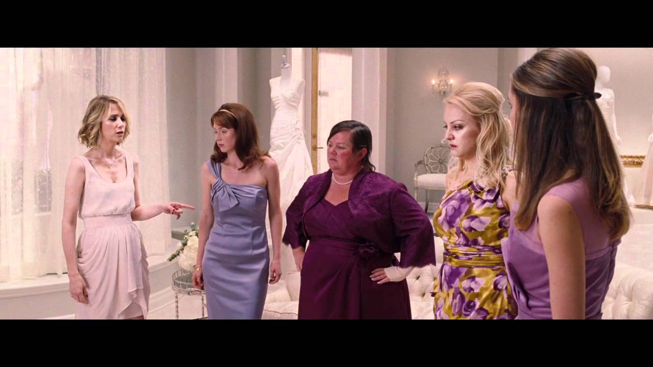 The Bridesmaids realise they are getting sick - YouTube