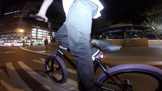Night Riding in NYC with FTL Bike Lights