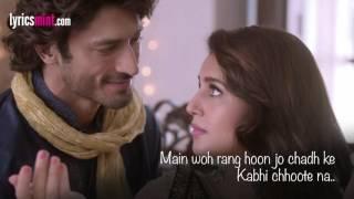 TUMHE DILLAGI LYRICS - Rahat Fateh Ali Khan New Song 2016 | Huma Qureshi | Vidyut Jammwal