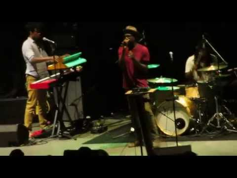 Tv On The Radio - Careful You ( new song ) Live @ Santa Barbara Bowl 10-17-14 in HD