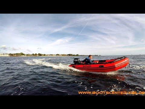 Schlaucboot Quicksilver 365 Sport HD Mit Mercury F 15 MH EFI -Bootscenter Kiel-