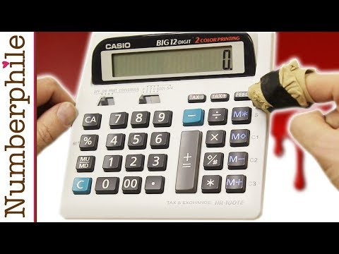Calculator Unboxing #8 (Printing Digits) - Numberphile