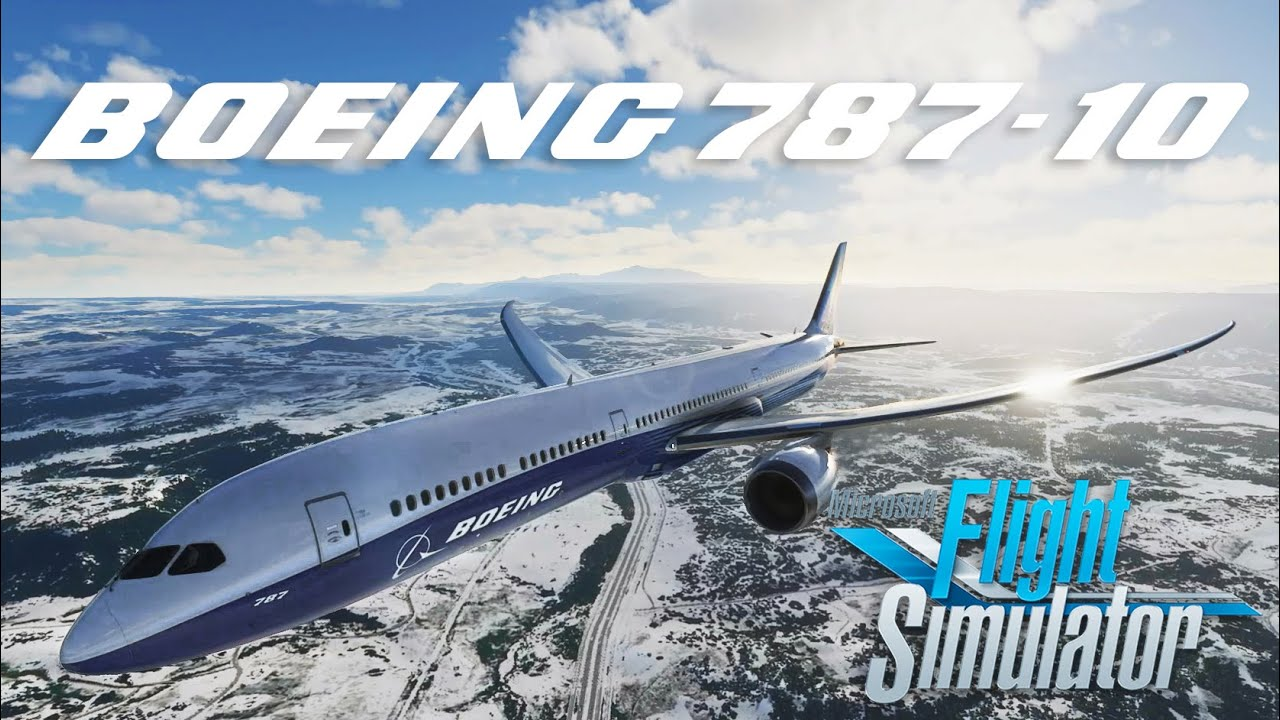 Download Microsoft Flight Simulator 2020 | Landing the 787-10 Dreamliner in Denver