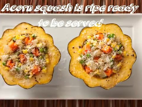 How To Cook Acorn Squash - Simple and Tasty! - YouTube