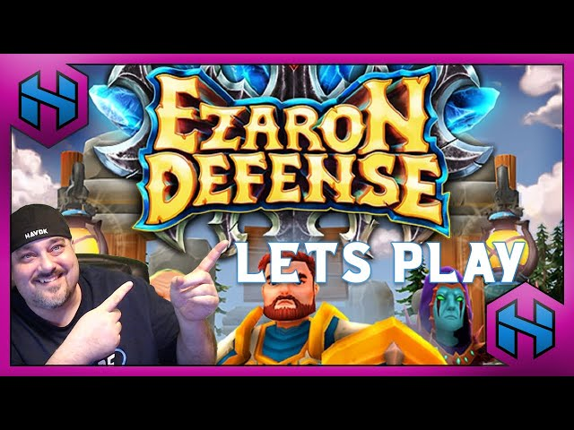 Let's Play: EZARON DEFENSE | HAVOK LETS PLAY #ad