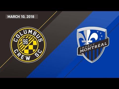 HIGHLIGHTS: Columbus Crew SC vs. Montreal Impact I March 10, 2018