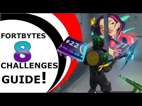 FORTNITE FORTBYTES CHALLENGES GUIDE #8 - SEASON 9 [FORTBYTE #22]