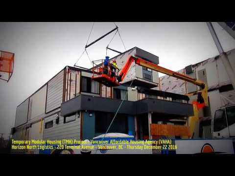 HiMY SYeD - Temporary Modular Housing Project, Vancouver Affordable Housing Agency, December 22 2016
