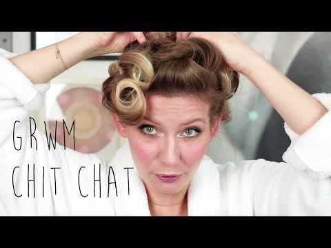 GRWM // Chit Chat // Carla Mickelborg