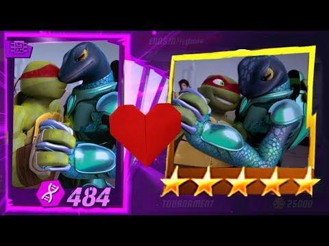 Mona said she ❤ LOVES Raphael. Many kisses video! Teenage Mutant Ninja Turtles Legends Episode 484