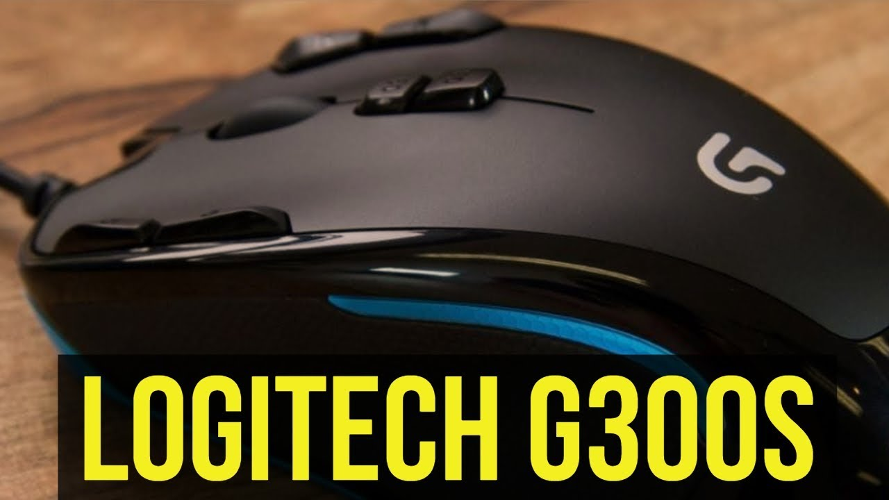 ✅ Logitech G300s Gaming Mouse Review