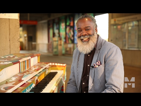 Playing His Heart Out: A Musician's Take on Placemaking at Arts Center MARTA Station
