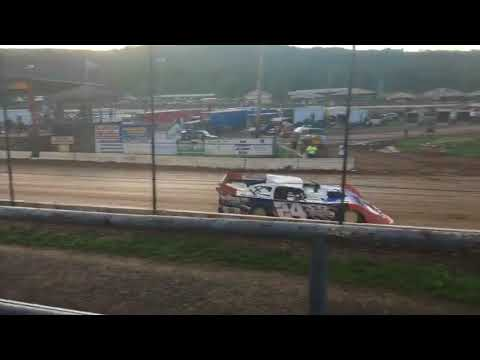 Super late model hot laps at bedford speedway August 18 2017 billy winn memorial
