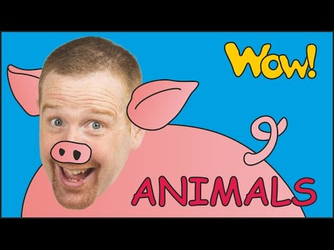 Thumbnail: Farm Animals for Kids + MORE | Steve and Maggie with Animals | English Stories from Wow English TV
