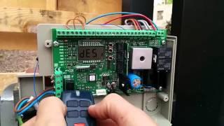 Dasturlash remotes sliding bu actuator ichida BFT BFT Deimos BT