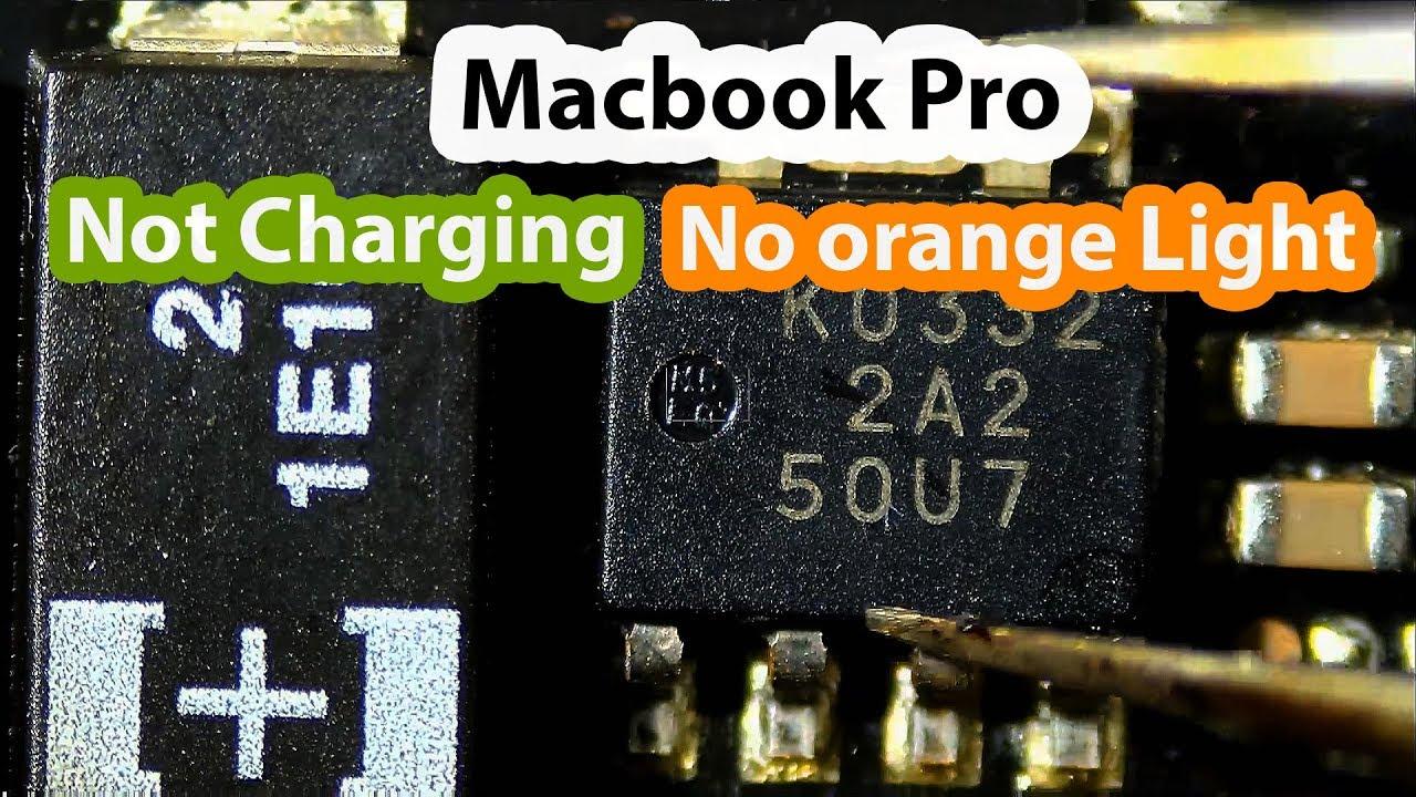 "Macbook Pro 15"" Not Charging No orange light and shuts off ..."