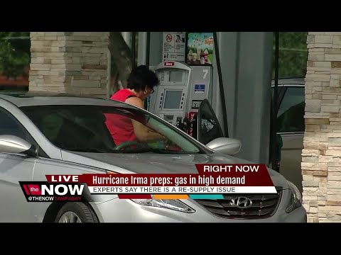 Gas in high demand for Floridians as Hurricane Irma nears