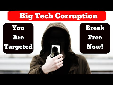 """Break Free From Big Tech """"Intentional"""" Psychological Targeting And Programming!"""