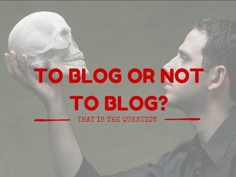 Palestra Writer | To blog or not to blog?