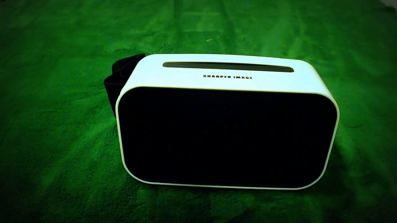Sharper Image Vr Headset Review Youtube