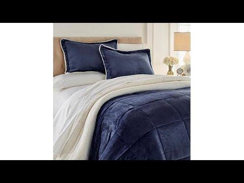 Soft   Cozy Plush Sherpa Comforter Set
