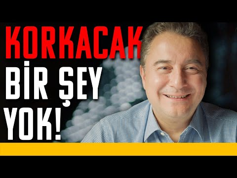 Ali Babacan: Korkacak