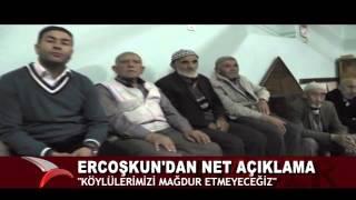 """""""KÖYLÜLERİN İHTİYAÇLARI GEREKİRSE BAŞBAKANLIKTA ÇÖZÜLECEK"""" (16.10.2015-BOLU)"""