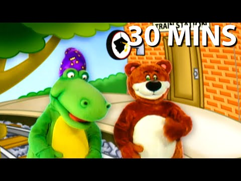 Down By The Station 30 Minutes Full DVD Sing Along | Nursery Rhymes Kids Songs | From Baby Genius