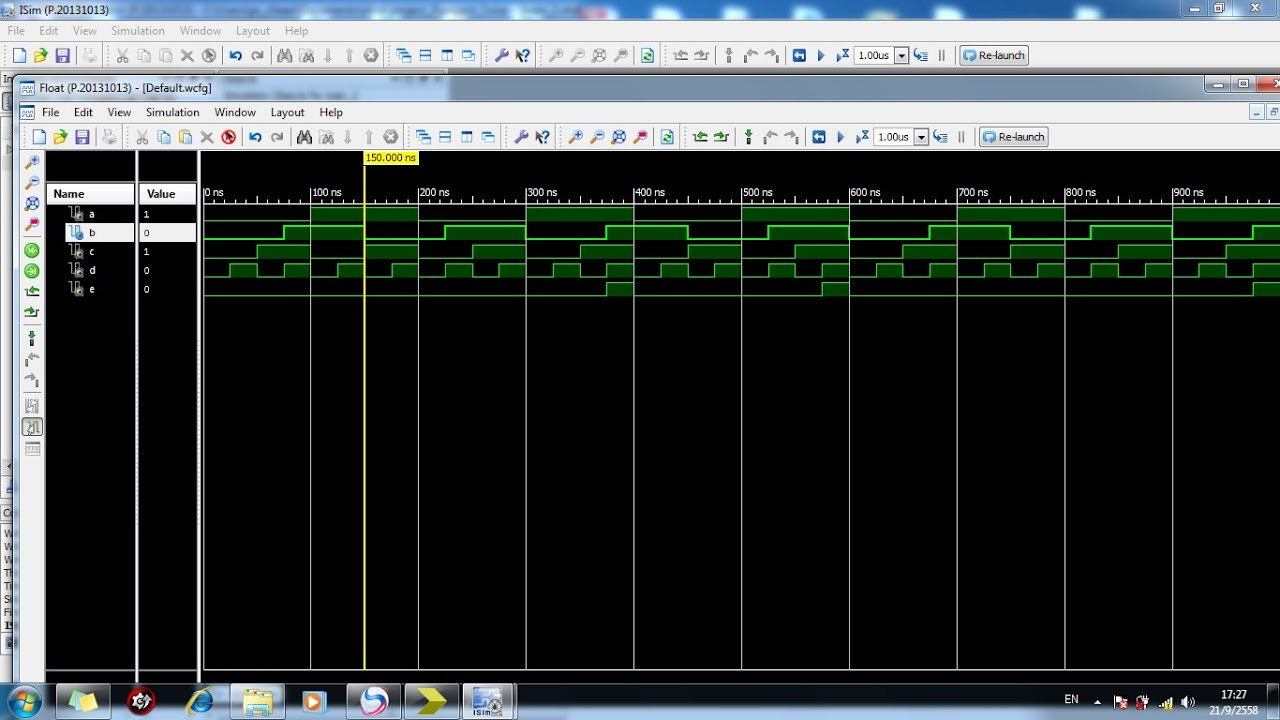 Create A Simple Vhdl Test Bench Using Xilinx Ise