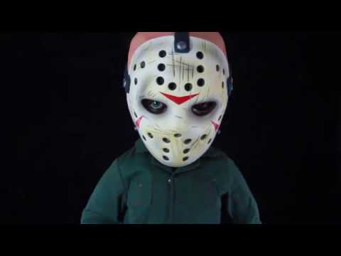 "Friday The 13th 15/"" Mega Scale Figure Jason Voorhees With Sound Mezco"