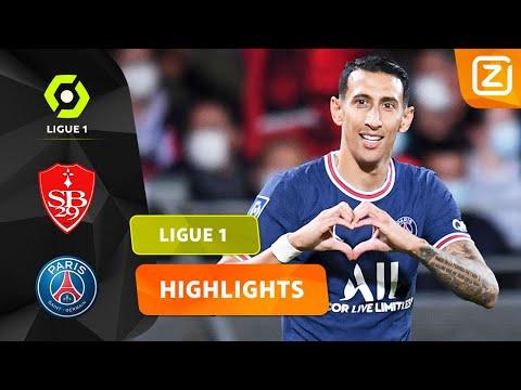 WAT EEN WONDERSCHONE GOALS! 🔥🙌🏼   Brest vs PSG   Ligue 1 2021/22   Samenvatting