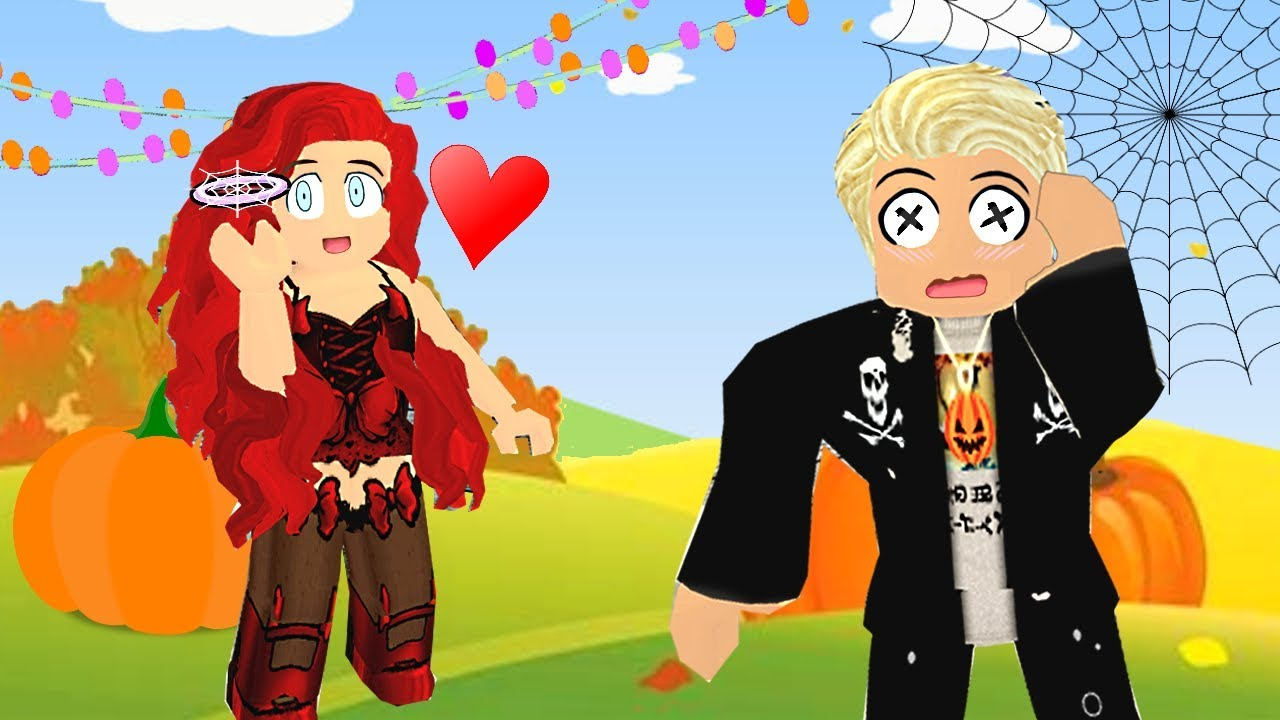 a-girl-gave-me-a-halloween-halo-to-pretend-to-be-her-boyfriend-roblox-royale-high-roleplay