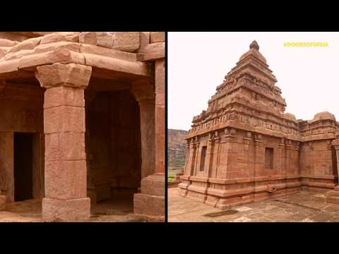 The door of Bhutanatha Temple, Badami - A portal to the 7th century - #DoorsOfIndia