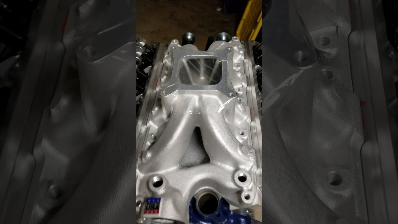Porting intake manifold to match the heads sbf ford 347 302 windsor part 1