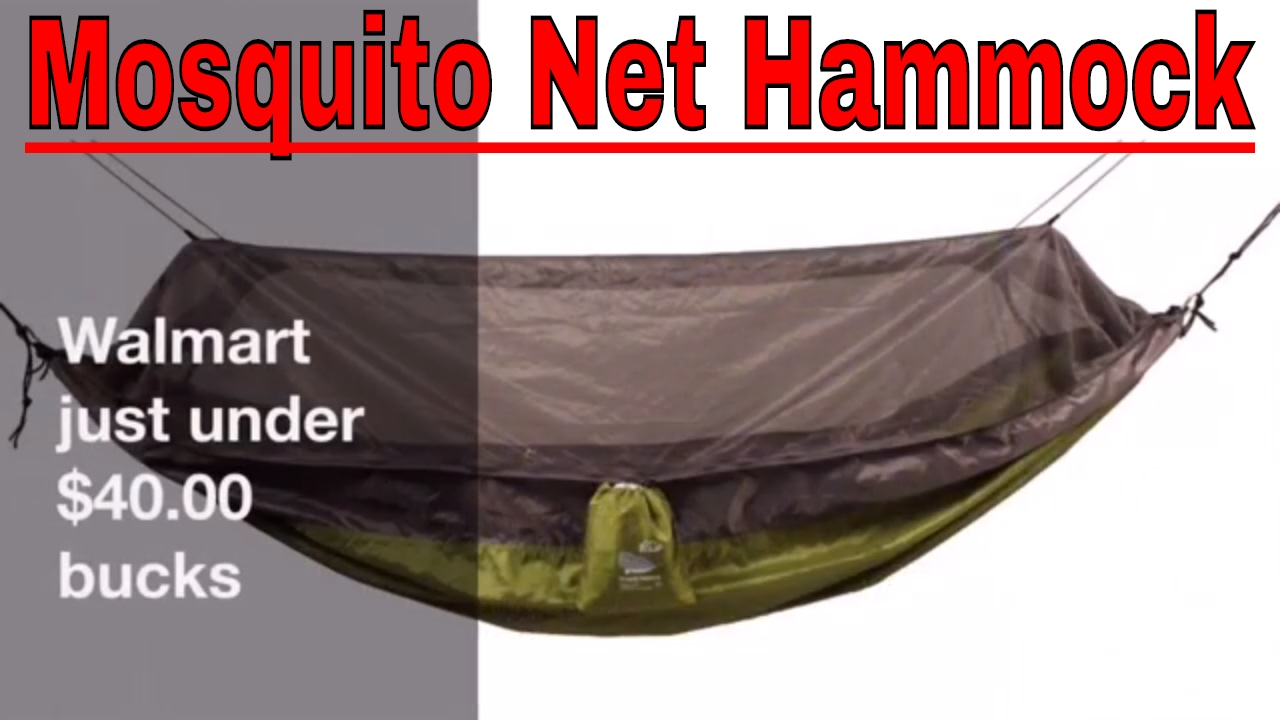 Mosquito Net Hammock From Walmart Review Youtube