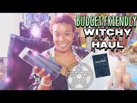 Budget Friendly Witchy Haul - Amazon, Dollar Tree, Thrift Store, Tarot, Crystals, Candles, And More