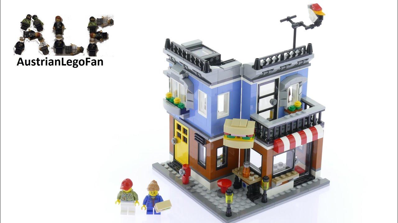 Lego Creator 31050 Corner Deli Model 1of3 - Lego Speed Build Review -  YouTube