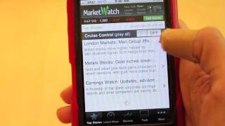 MarketWatch iPhone App Review 110526.m4v