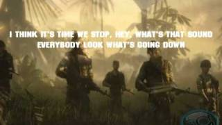 BFBC2 Vietnam Soundtrack (Buffalo Springfield - For What It's Worth + Lyrics) [HQ]
