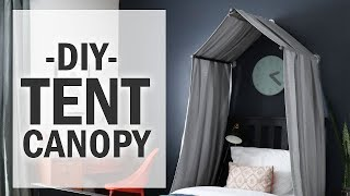 DIY| How to Make A Bed Tent Canopy
