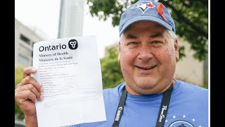 BLUE JAYS STREETER: How do you feel about proving vaccination to get into a game?