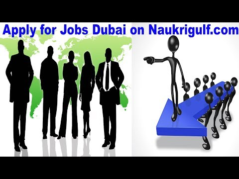 Apply for a Job in Dubai, UAE | Naukrigulf com