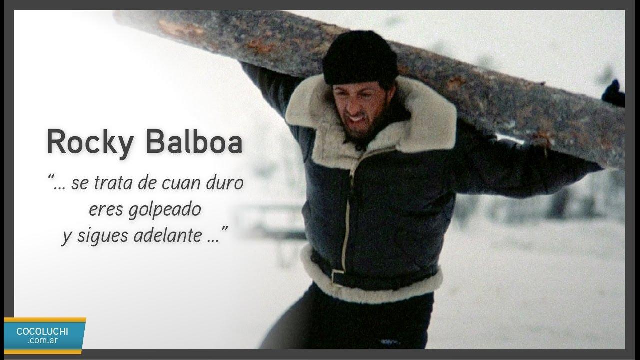 Rocky Balboa Padre E Hijo Speech Motivacional Sub Español