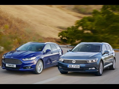 ford mondeo vs vw passat erster kombi vergleich youtube. Black Bedroom Furniture Sets. Home Design Ideas