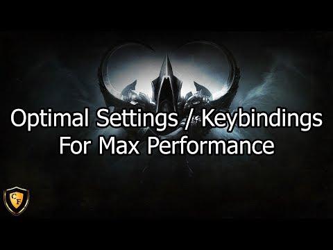 [D3] Optimal Settings / Keybindings For Max Performance