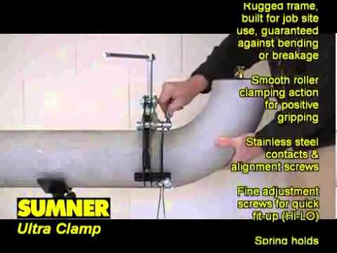Sumner Pipe Clamps Ultra And Qwik Clamp For Pipes